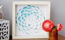Trang trí nhà tinh tế với tranh hoa 3D