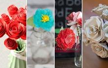 Mách bạn 4 cách làm hoa giấy đẹp trang trí nhà đáng yêu