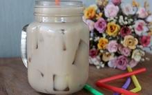 """Ngọt mát """"lịm tim"""" với trà sữa thạch phô mai"""