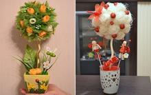 Tự chế chậu hoa đẹp trang trí nhà theo 2 cách đơn giản