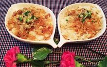 Mẹ Bi chia sẻ cách nấu xôi cá rô phi dẻo thơm hấp dẫn