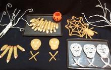 Làm bánh qui rùng rợn cho tiệc Halloween thêm vui!
