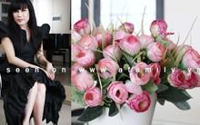 Ngôi nhà đầy hoa của ca sĩ Nhật Hạ