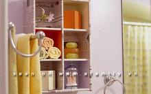 8 cách tăng chỗ lưu trữ cho phòng tắm nhỏ mà lắm đồ