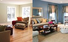 Thay diện mạo lung linh cho phòng khách với giá thấp