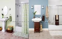 1 phòng tắm, 3 phong cách trang trí khác nhau