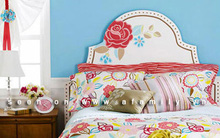 Làm mới đầu giường thật đẹp để đón Tết