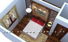 Trang trí phòng ngủ 18m2 cho người sắp cưới