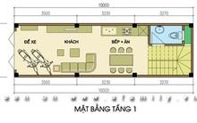 Thiết kế nhà 30m2 thoáng mát cho 4 người