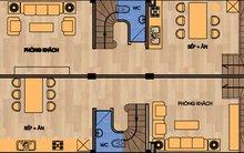 Xây nhà 87m2 thành 2 căn riêng biệt và có tầng 1 làm cửa hàng