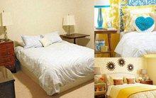 1 phòng ngủ, 2 cách thay