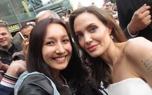Anna Trương phấn khích vì được gặp Angelina Jolie