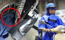 Đây là những cách mặc áo mưa dễ khiến bạn và con gặp tai nạn, mất mạng như chơi