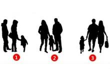 Hình mẫu bạn cho là gia đình hạnh phúc trong bức ảnh này sẽ chỉ ra nhiều điều bất ngờ về con người bạn