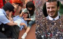 """Fan Trung Quốc hỗn loạn vì """"cuồng"""" David Beckham"""
