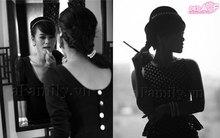 Thanh lịch và gợi cảm như Audrey Hepburn