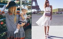 Street style đơn giản, mát mẻ của các quý cô châu Âu