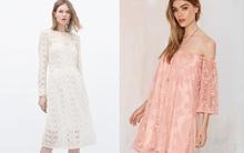 """11 mẫu váy ren tôn dáng """"ngọc ngà"""" cho tiết trời mát mẻ"""