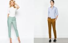 """""""Nâng tầm"""" phong cách công sở với 15 chiếc quần âu trơn màu"""