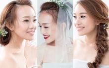 Gợi ý 3 kiểu tóc cài hoa tinh tế mà không bị sến cho cô dâu mùa thu