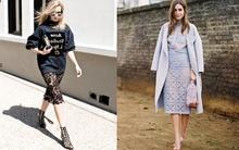 Chân váy ren - Món đồ dễ mặc đẹp và sang trọng ở mọi hoàn cảnh