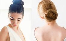 Những biến tấu tóc búi đơn giản mà đẹp mắt cho cô dâu