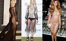 """Những """"chiếc váy"""" khó có thể gọi là... váy của sao thế giới"""