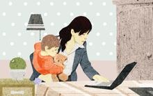 """Tâm sự của một bà mẹ """"tham công tiếc việc"""""""