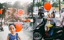 """Hàng ngàn trái bóng bay vừa truyền thông điệp """"Con mơ điều giản dị"""" đi khắp Hà Nội"""