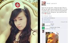 """Những hotgirl """"liều lĩnh"""" trên mạng xã hội"""