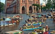 Chùm ảnh chế hài hước cho thấy tinh thần lạc quan kỳ lạ của người Sài Gòn trong trận mưa ngập lịch sử