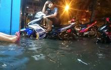 Chiều nay Sài Gòn tiếp tục có nguy cơ ngập úng