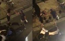 Thanh niên đánh bạn gái ngay trên phố vì bắt gặp cô này đi ra từ nhà nghỉ