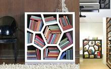 4 thiết kế kệ sách phá cách cho nhà đẹp