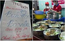 Những tô bún 1.000 đồng mang tên Hạnh phúc ở Sài Gòn