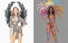 Rò rỉ thiết kế nội y trong 5 BST của show Victoria's Secret 2015