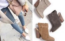 4 kiểu giày các cô nàng nên có trong mùa thu đông này