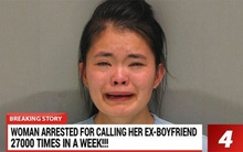 Thiếu nữ bị bắt vì gọi cho tình cũ 27.000 cuộc/tuần
