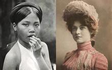 100 năm trước, vẻ đẹp của phụ nữ Việt ra sao so với thế giới?