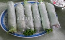 Ba món cuốn thanh mát cho ngày nắng nóng ở Hà Nội