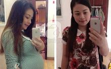 """Công cuộc giảm 13kg sau 1 tháng sinh con của mẹ bầu """"không ăn gì cũng béo"""""""
