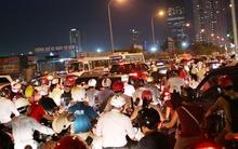 Hà Nội: Lại tê liệt giao thông tại đường Hoàng Minh Giám