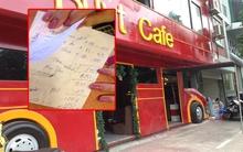 Hà Nội: Quán cà phê lên tiếng vụ