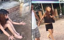 Hà Nội: Cô gái trẻ nghi ngáo đá ngồi vỉa hè nói nhảm, đòi lao vào đầu xe ô tô tự tử