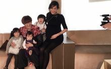 Trần Hạo Dân khoe ảnh hạnh phúc bên vợ bầu và 3 con