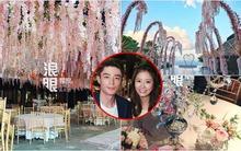 Khung cảnh lễ cưới ngập trong biển hoa của Lâm Tâm Như và Hoắc Kiến Hoa trước giờ G