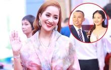 Khánh Thi xinh tươi rạng rỡ đến mừng đám cưới của tình cũ Chí Anh