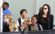 Sau cú sốc bố mẹ ly hôn, lũ trẻ nhà Angelina Jolie muốn về nhà đến phát khóc