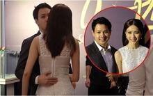 Bạn trai ôm eo, hôn má Hoa hậu Thu Thảo giữa chốn đông người