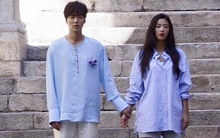 Đây là hình ảnh mặc đồ đôi tình tứ đầu tiên của Lee Min Ho - Jun Ji Hyun